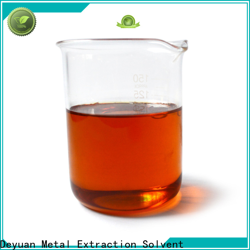 Deyuan custom best copper solvent supply for extraction plant