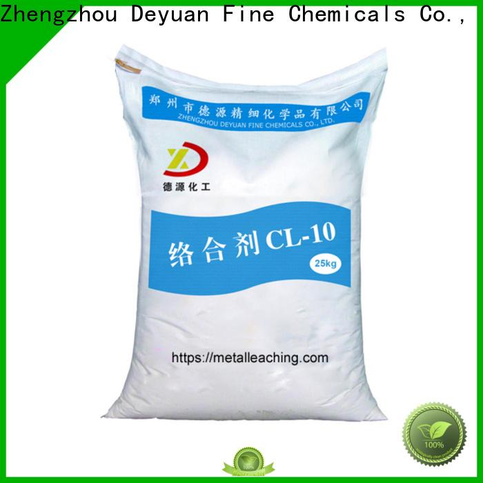 Deyuan metal leaching complexing agent high-performance distributor