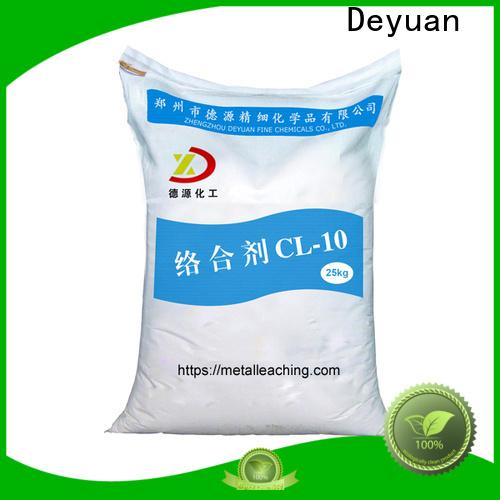 Deyuan metal leaching complex agent high-performance supplier