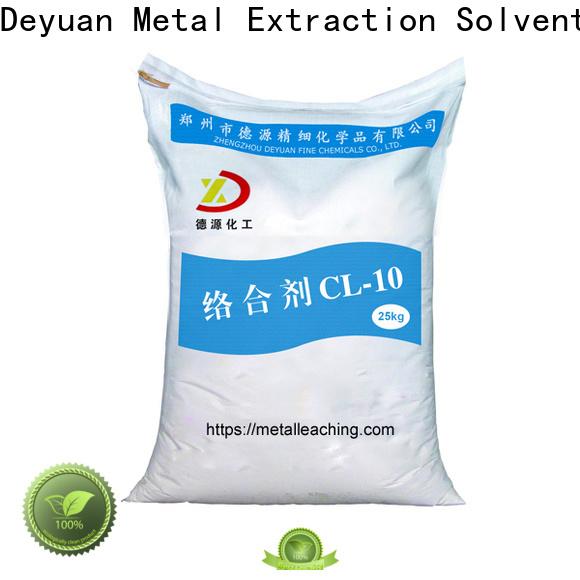 Deyuan eco-friendly complexing agent metal processing supplier