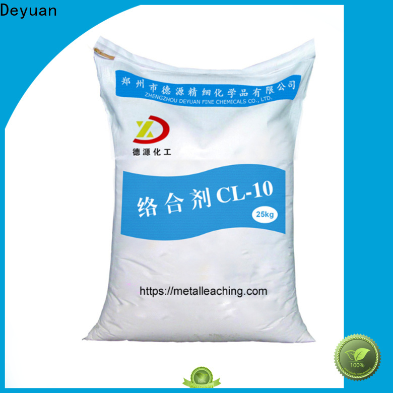 Deyuan metal leaching complexing agent high-performance extraction plant