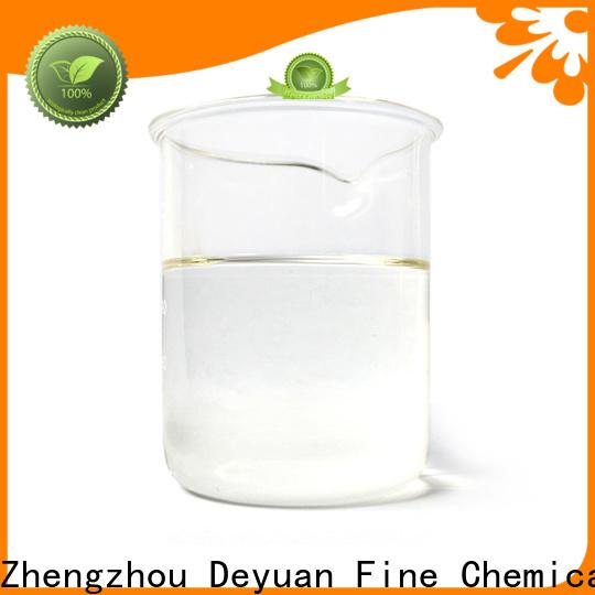 Deyuan solvent agent performance supplier